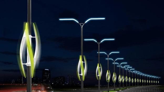 Датчики уровня снега и температуры дорог могут появиться на фонарных столбах  - Фото