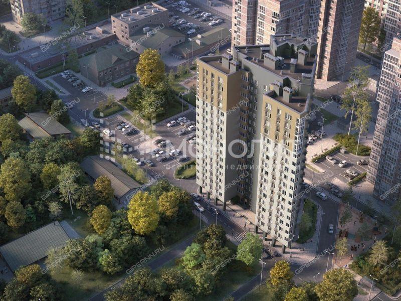 двухкомнатная квартира в новостройке на Тимирязева улица