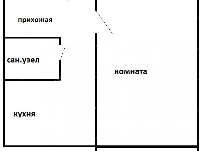однокомнатная квартира на улице Красный Путь дом 3 к1 город Арзамас