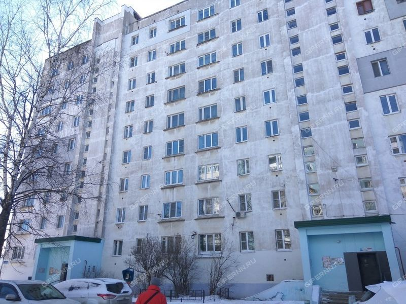двухкомнатная квартира на улице Карбышева дом 7
