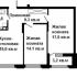 двухкомнатная квартира в новостройке в ЖК Планетарий,ул. Калашникова