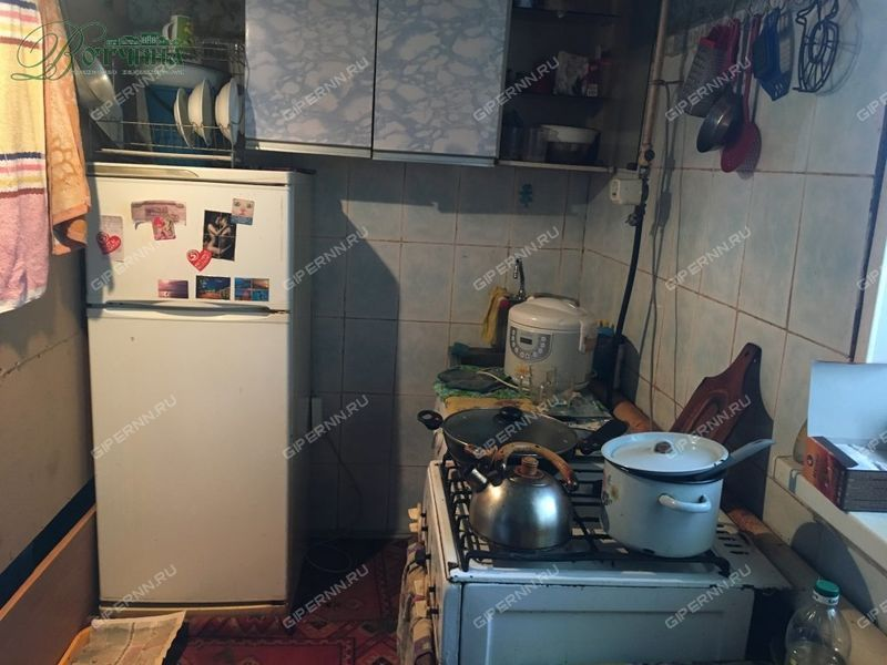 однокомнатная квартира на улице Угодникова дом 20 город Арзамас