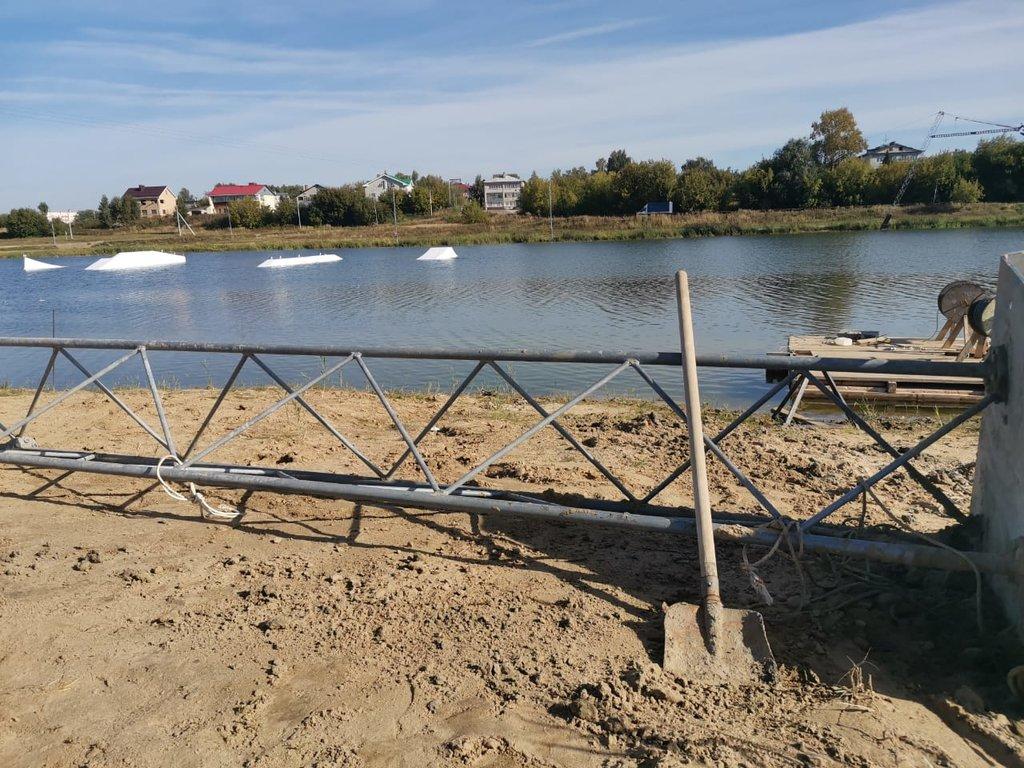 двух фото озеро юрасовское г бор нижегородской области поражает