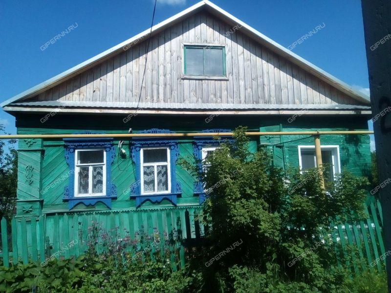 дом на Нагорной улице город Лукоянов