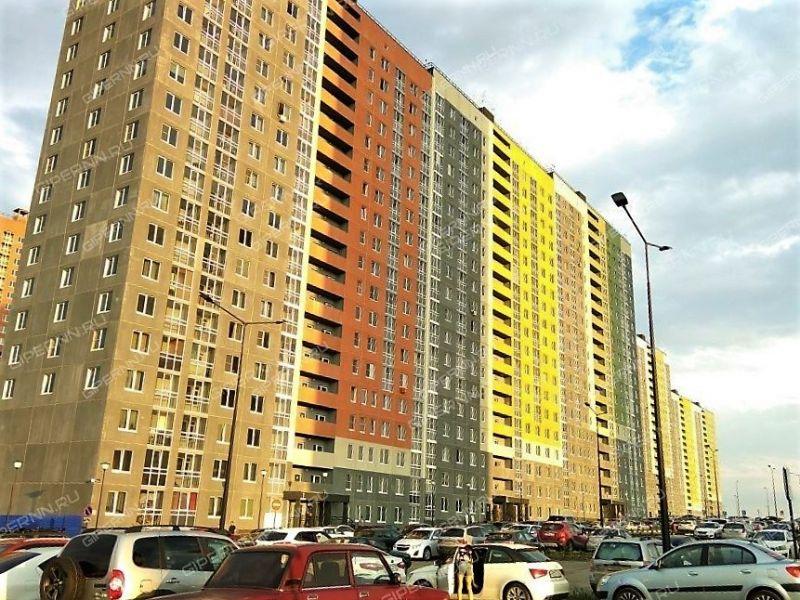однокомнатная квартира на улице Русская дом 4 деревня Анкудиновка
